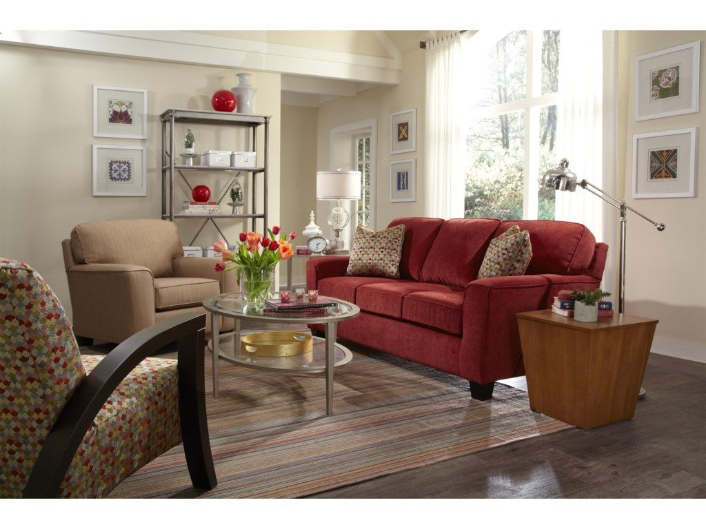 Best Home Furnishings Annabel Stationary Living Room Group