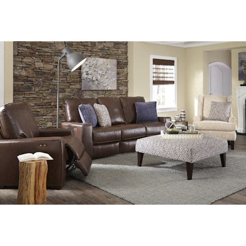 Best Home Furnishings Celena Reclining Living Room Group
