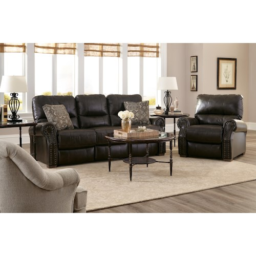 Best Home Furnishings Lander Reclining Living Room Group