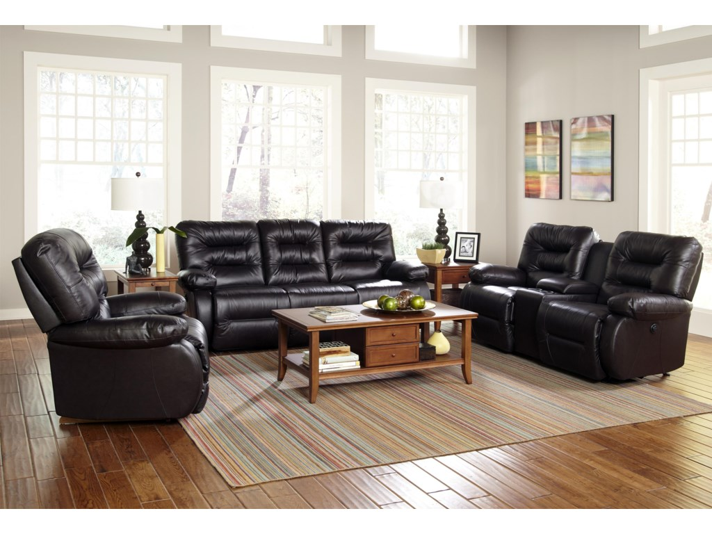 Best Home Furnishings MaddoxReclining Living Room Group