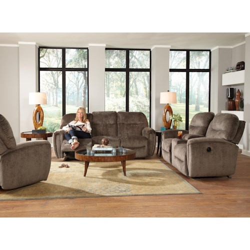 Best Home Furnishings Markson Reclining Living Room Group
