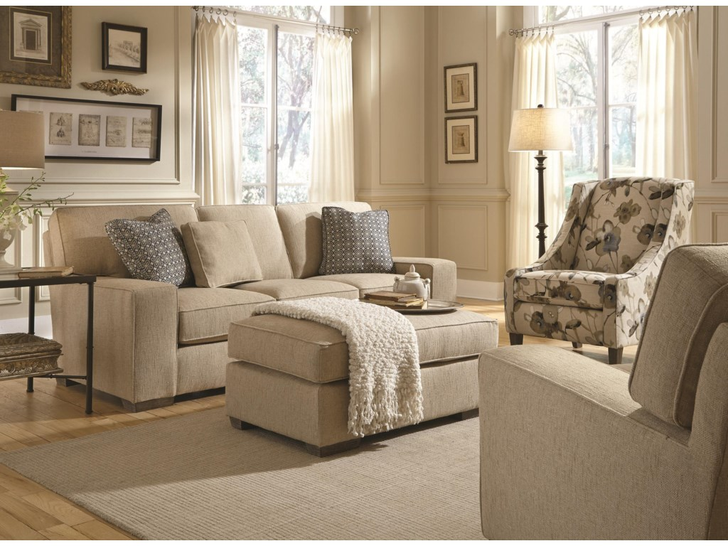 Best Home Furnishings MillportStationary Living Room Group
