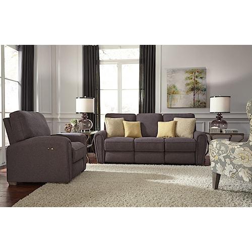 Best Home Furnishings Miriam Reclining Living Room Group