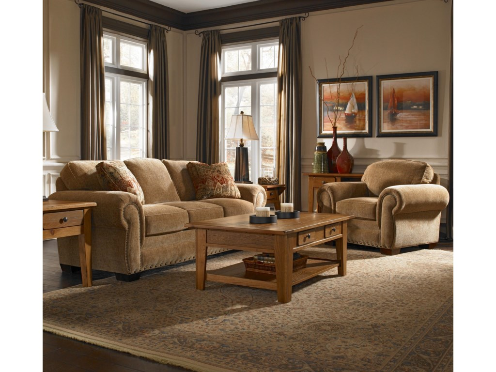 Broyhill Express CambridgeStationary Living Room Group