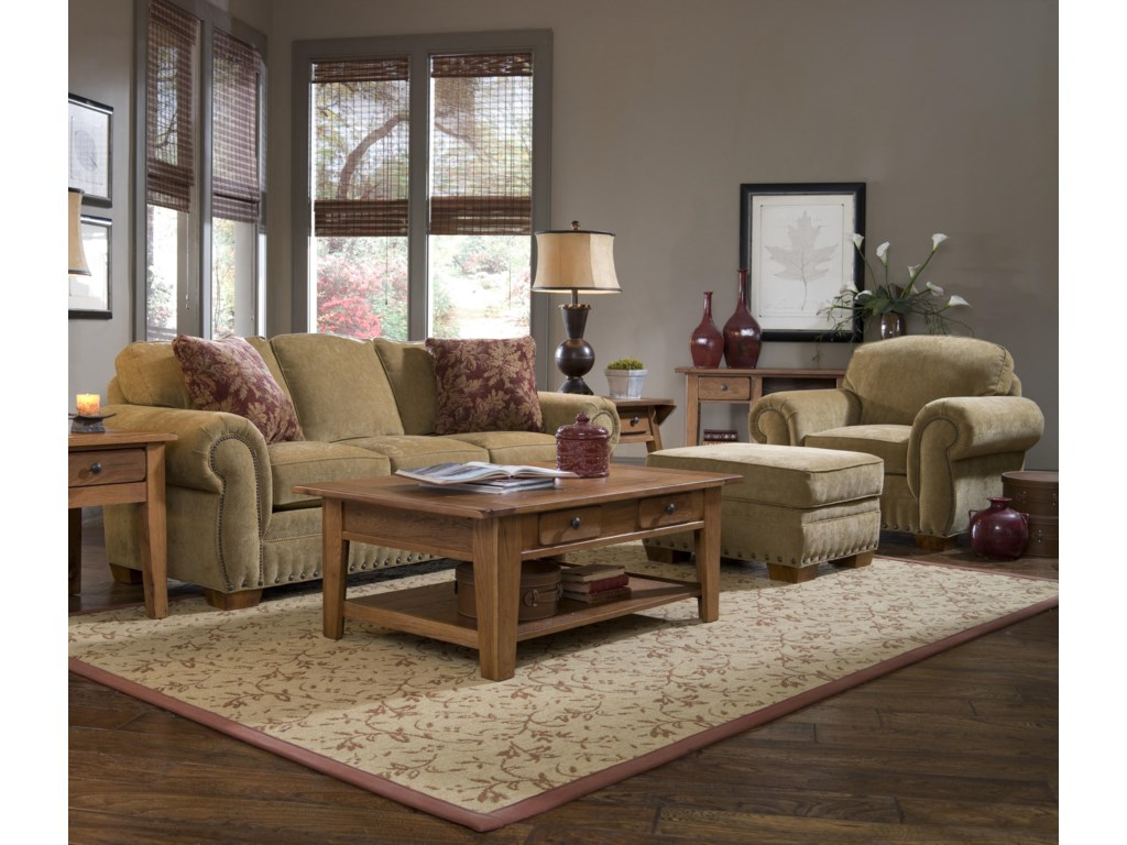 Broyhill Furniture CambridgeStationary Living Room Group