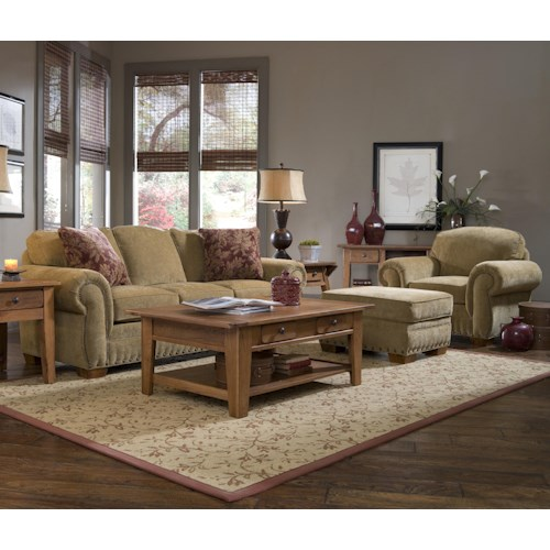 Broyhill Furniture Cambridge Stationary Living Room Group Wayside