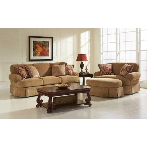 Broyhill Furniture McKinney Stationary Living Room Group