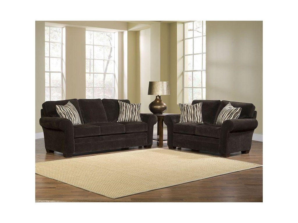 Broyhill Furniture ZacharyStationary Living Room Group