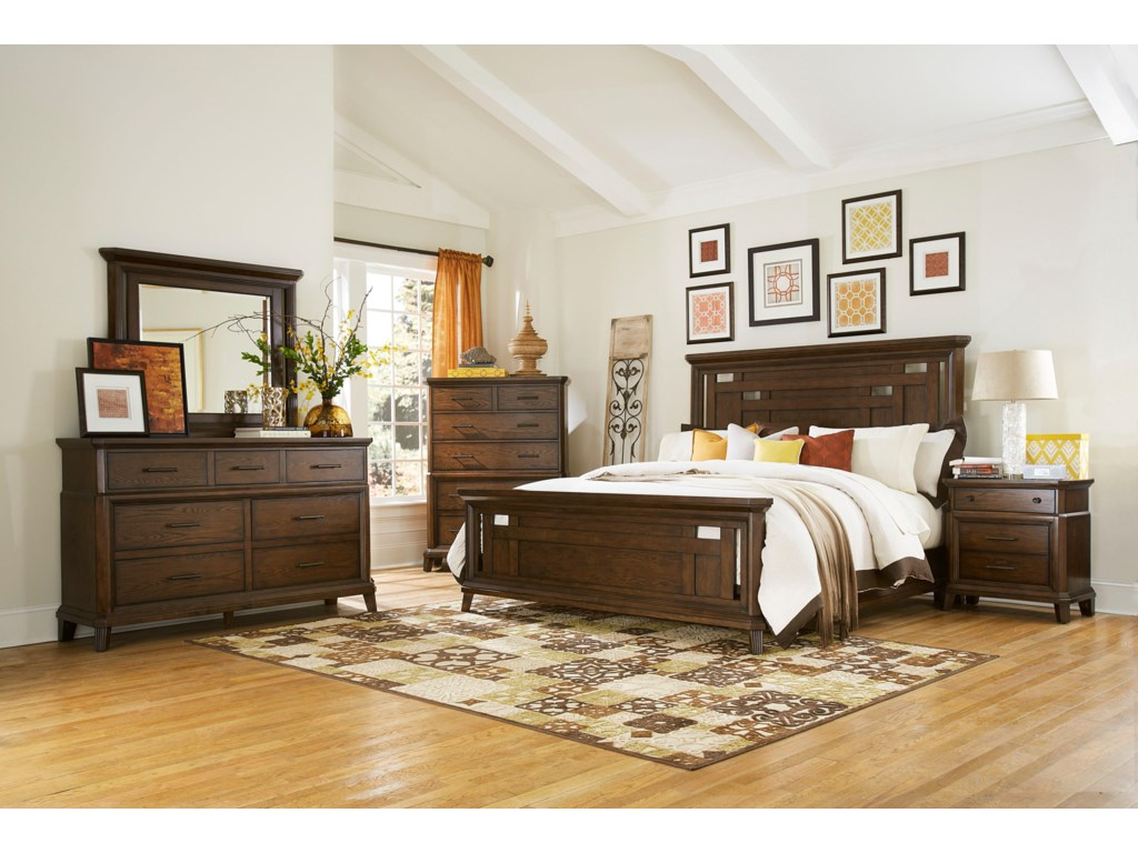 Broyhill Furniture Estes ParkQueen Bedroom Group