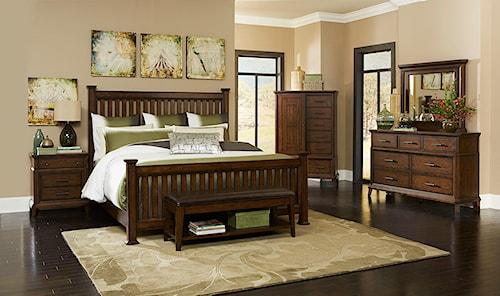 Broyhill Furniture Estes Park California King Bedroom Group
