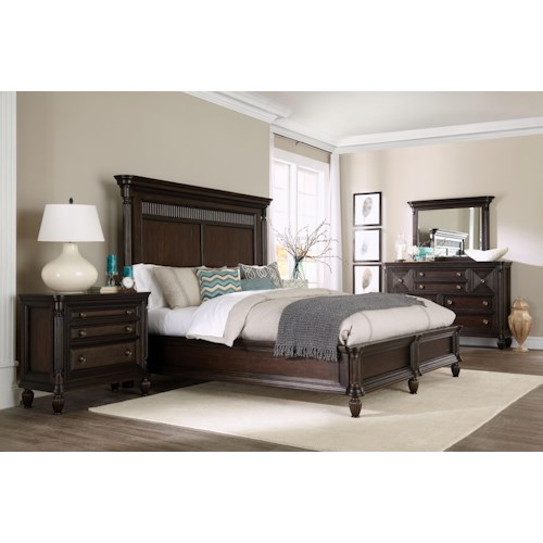 Broyhill Furniture Jessa King Bedroom Group 1