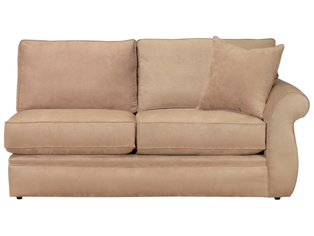 Configure Your Custom Sofa with Your Choice of Sectional Components, Including the RAF Full Sleeper Sofa