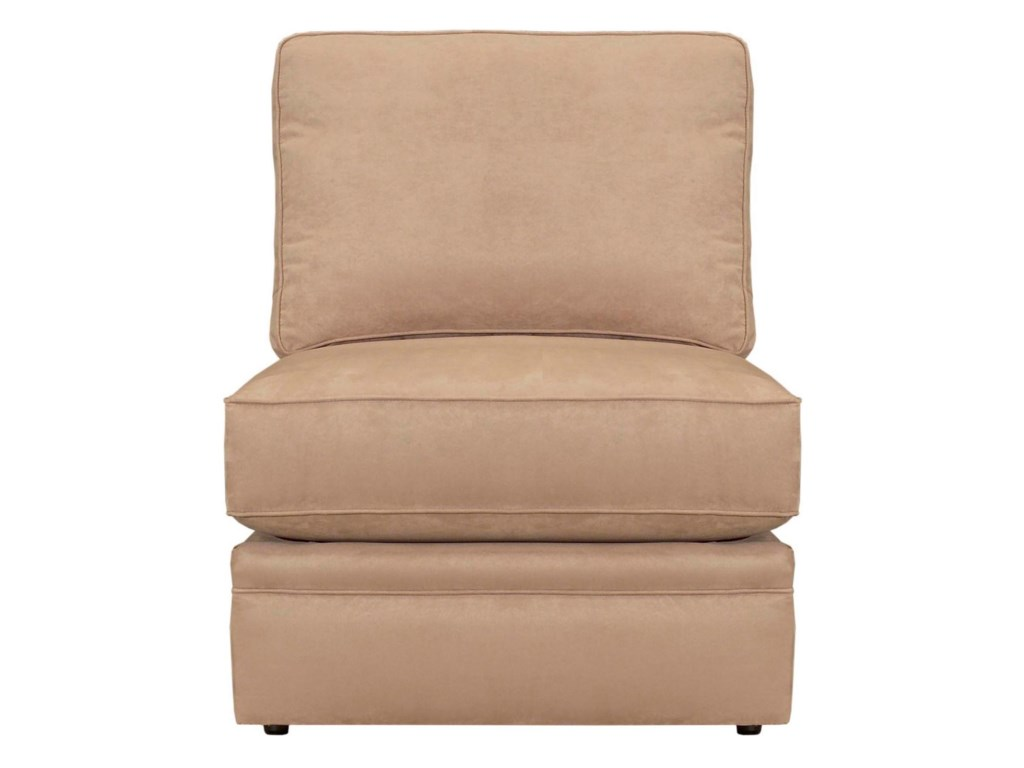 Configure Your Custom Sofa with Your Choice of Sectional Components, Including the Armless Chair