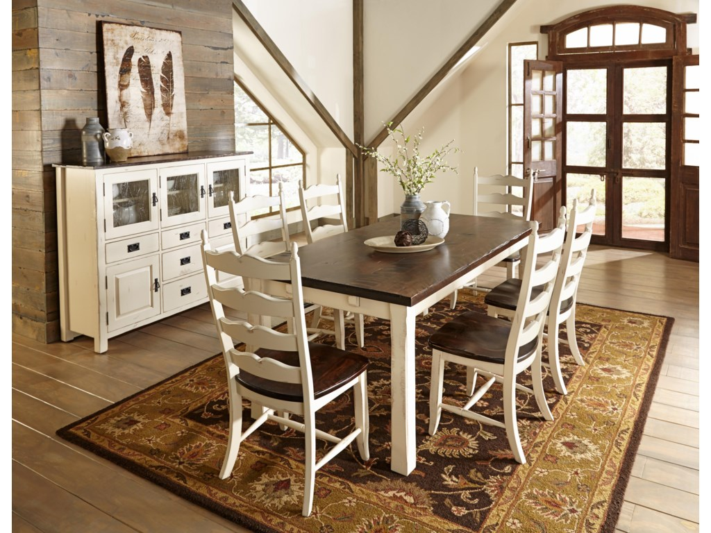Canadel Champlain - Custom DiningCasual Dining Room Group