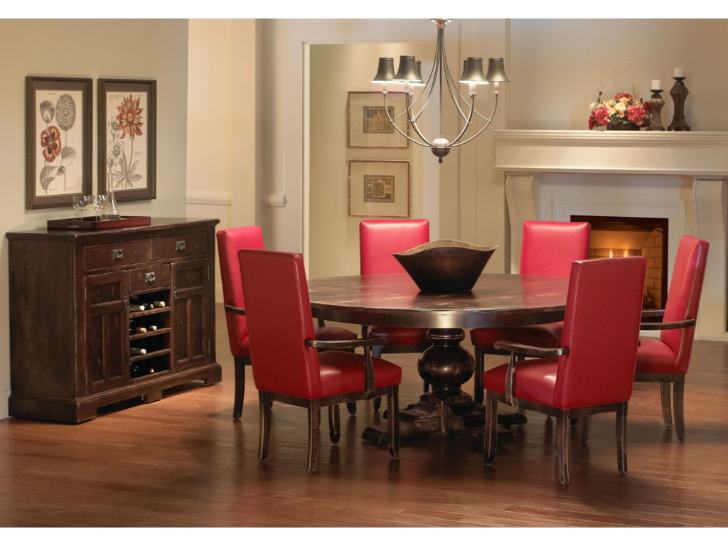 Canadel Champlain - Custom Dining<b>Customizable</b> Round Dining Table