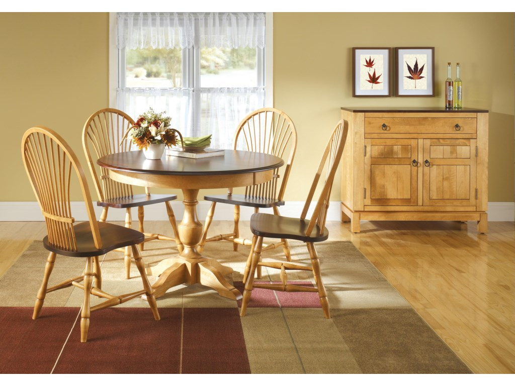 Canadel Custom DiningCasual Dining Room Group