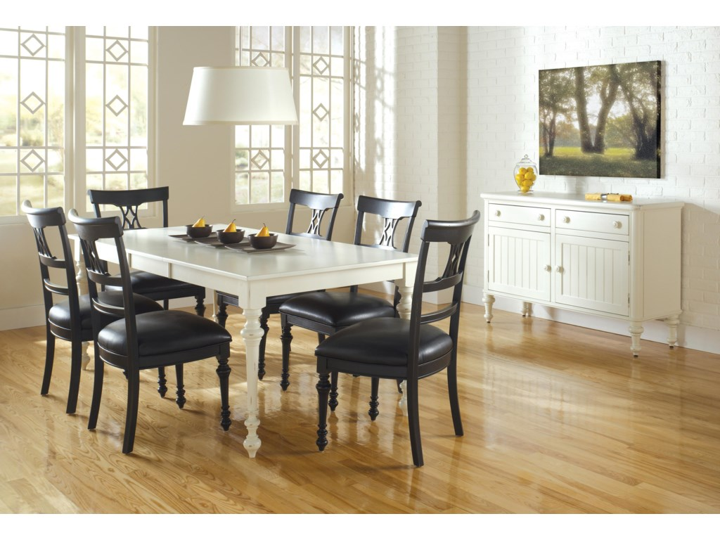 Canadel Custom Dining<b>Customizable</b> Rectangular Table Set