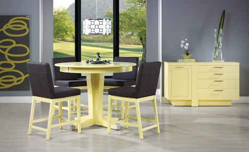 Canadel Custom Dining - High Dining Casual Dining Room Group