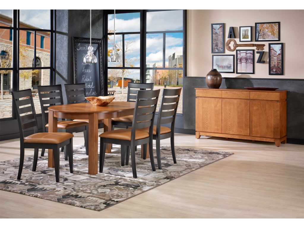 Canadel Gourmet - Custom DiningCasual Dining Room Group