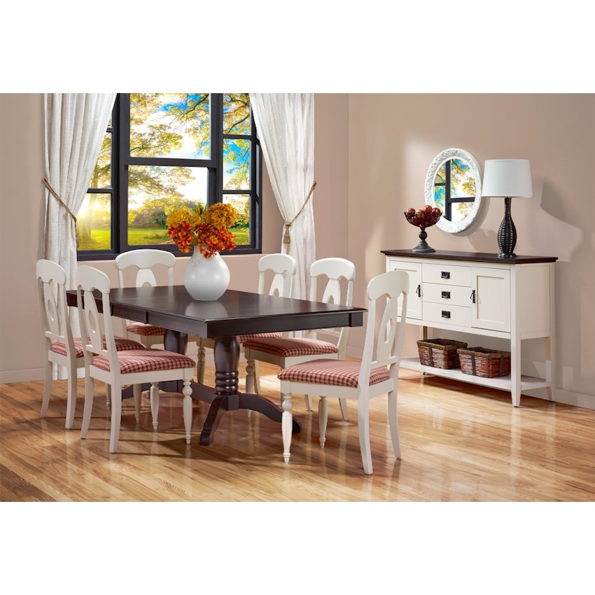 Gourmet Custom Dining Set 9 By Canadel Godby Home