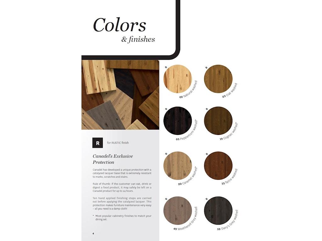 Canadel Loft - Custom Dining<b>Customizable</b> Upholstered Bench