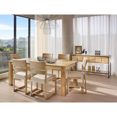 Canadel Loft Custom Dining Casual Dining Room Group Story Lee Furniture Casual Dining