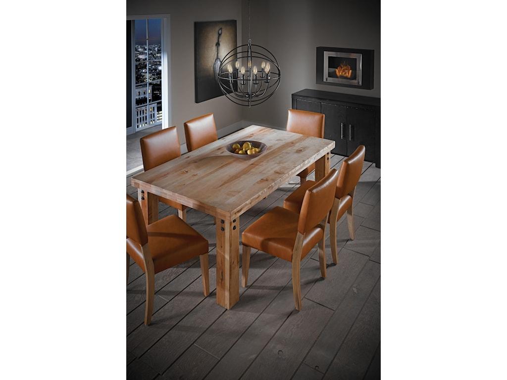 Canadel Loft - Custom DiningCasual Dining Room Group