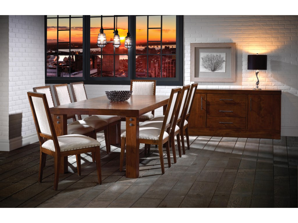 Canadel Loft - Custom Dining<b>Customizable</b> Buffet