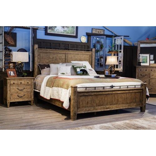 Carolina Preserves by Klaussner Riverbank King Bedroom Group ...
