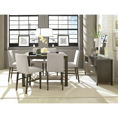 Belfort Select Modera Formal Dining Room Group