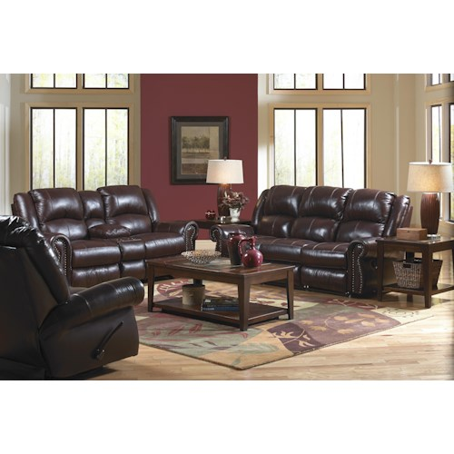 Catnapper livingston reclining living room group lindy 39 s for Furniture 500 companies