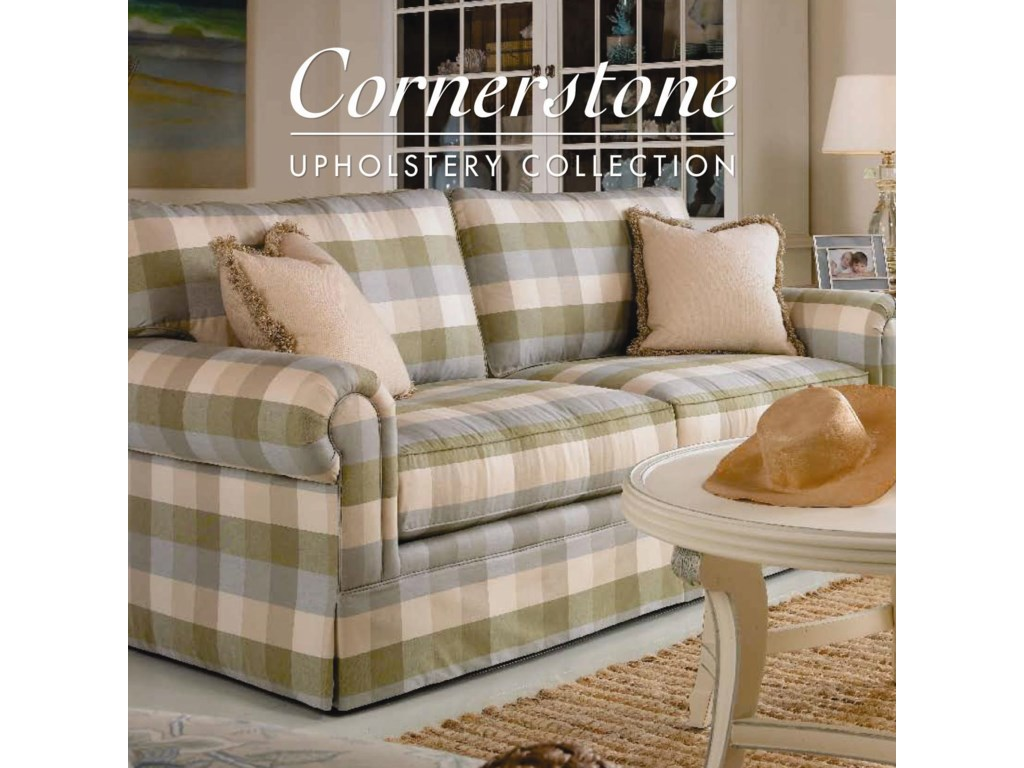 Century Cornerstone <b>Customizable</b> Stationary Sofa