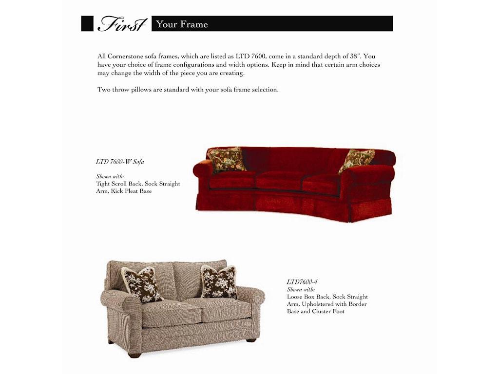 Century Cornerstone <b>Customizable</b> Conversation Sofa