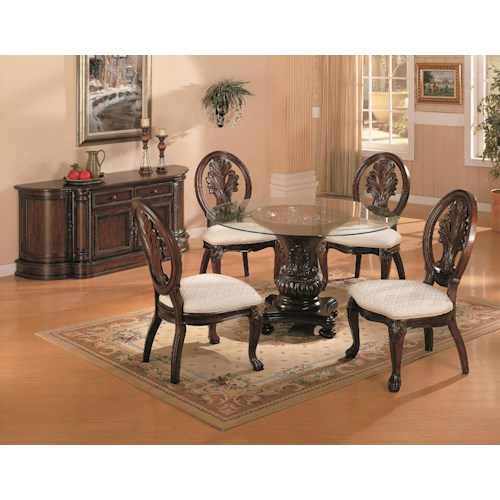 Coaster Tabitha Casual Dining Room Group