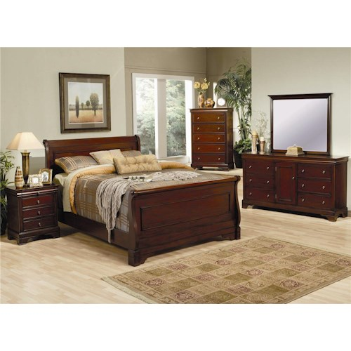 Coaster Versailles King Bedroom Group
