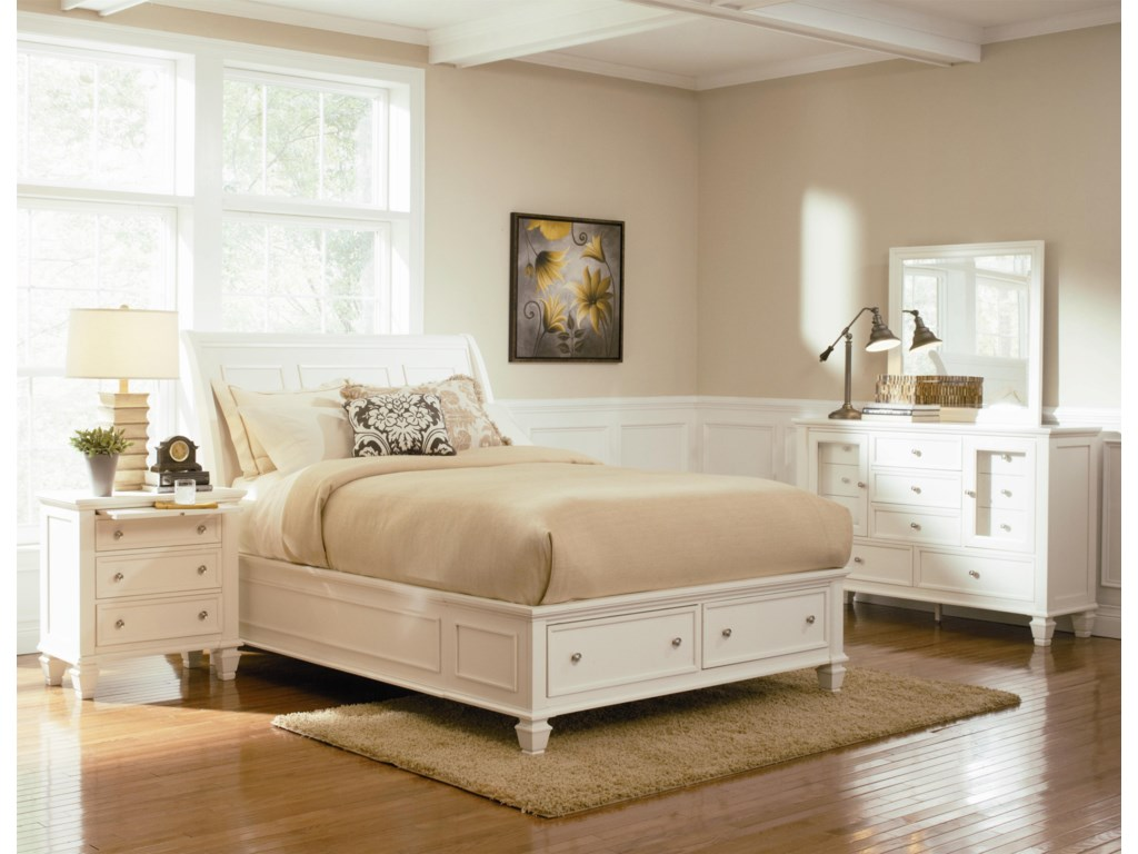 Coaster Sandy BeachKing Bedroom Group