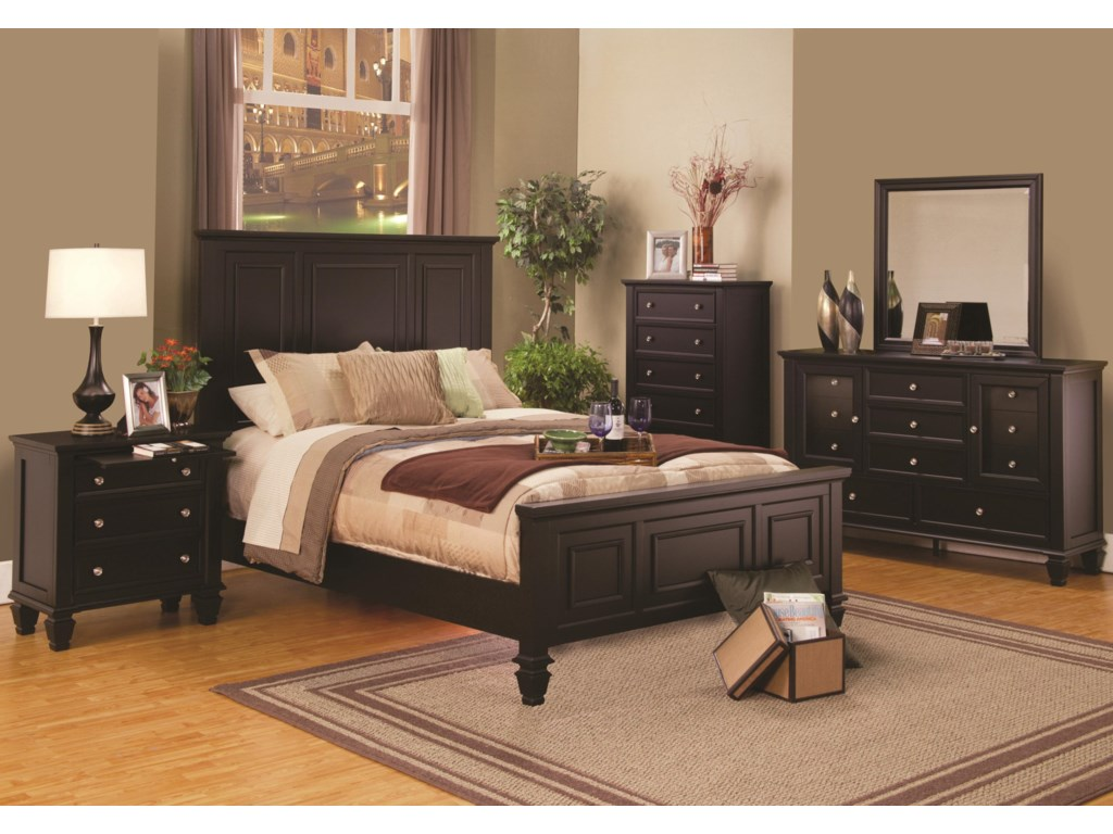Fine Furniture Sandy BeachQueen Bedroom Group
