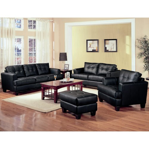 Coaster Samuel Stationary Living Room Group