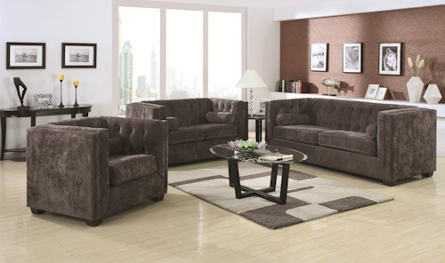 Coaster Alexis CH Stationary Living Room Group