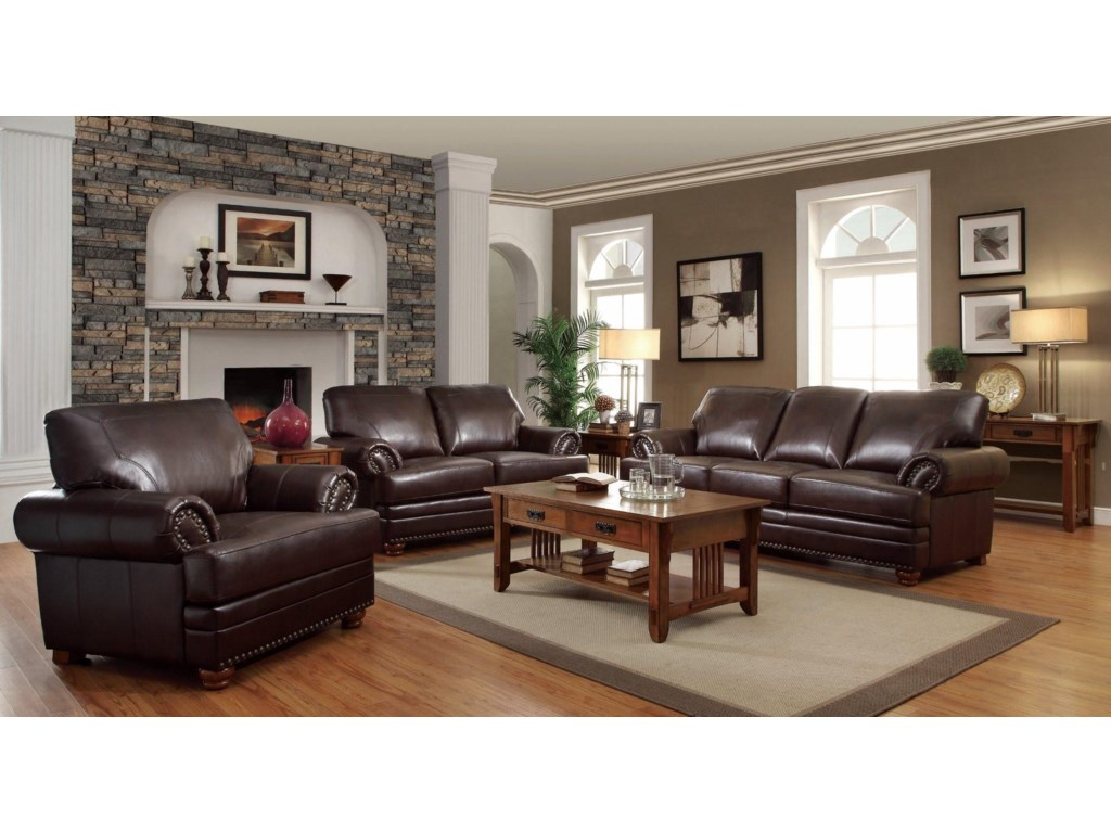 Coaster ColtonStationary Living Room Group