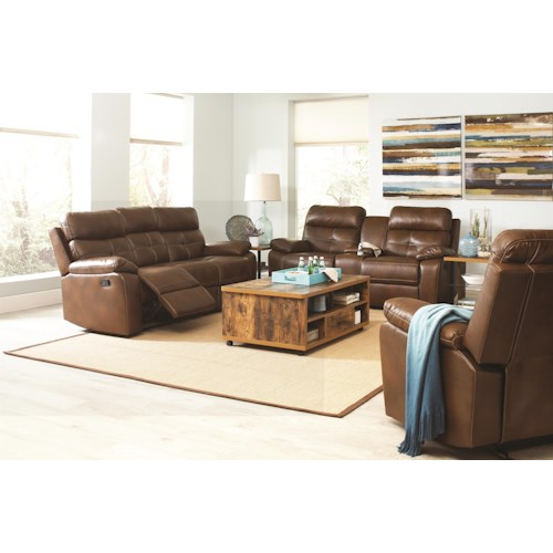 Coaster Damiano Reclining Living Room Group