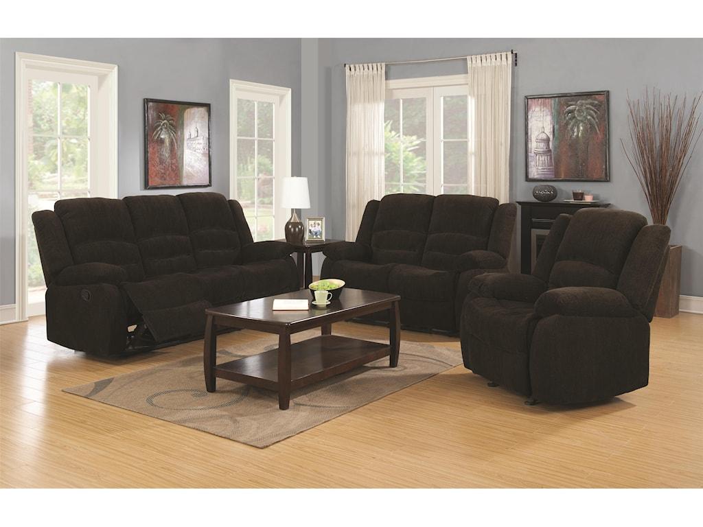 Coaster GordonReclining Living Room Group