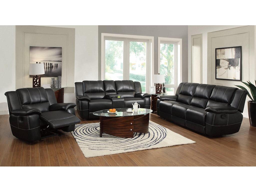 Coaster LeeReclining Living Room Group