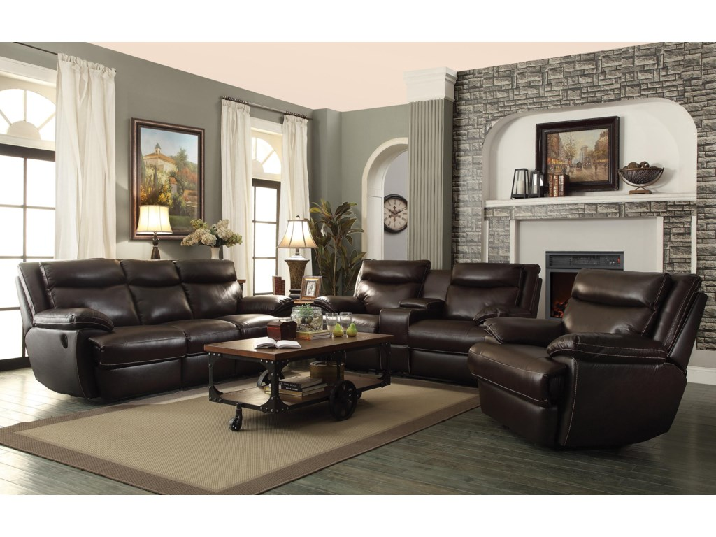 Coaster MacPhersonPower Reclining Living Room Group