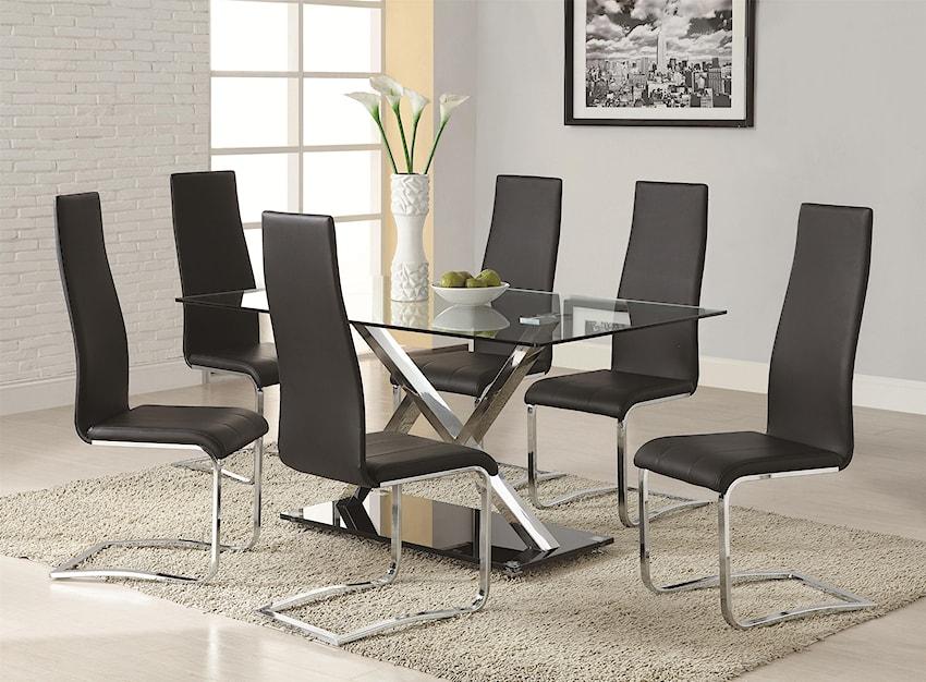 Modern Dining 100515 By Coaster Rife 39 S Home Furniture Coaster Modern Dining Dealer