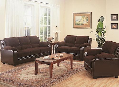 Coaster Monika Stationary Living Room Group