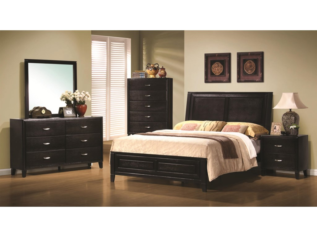 Coaster NaceyQueen Headboard & Footboard Bed