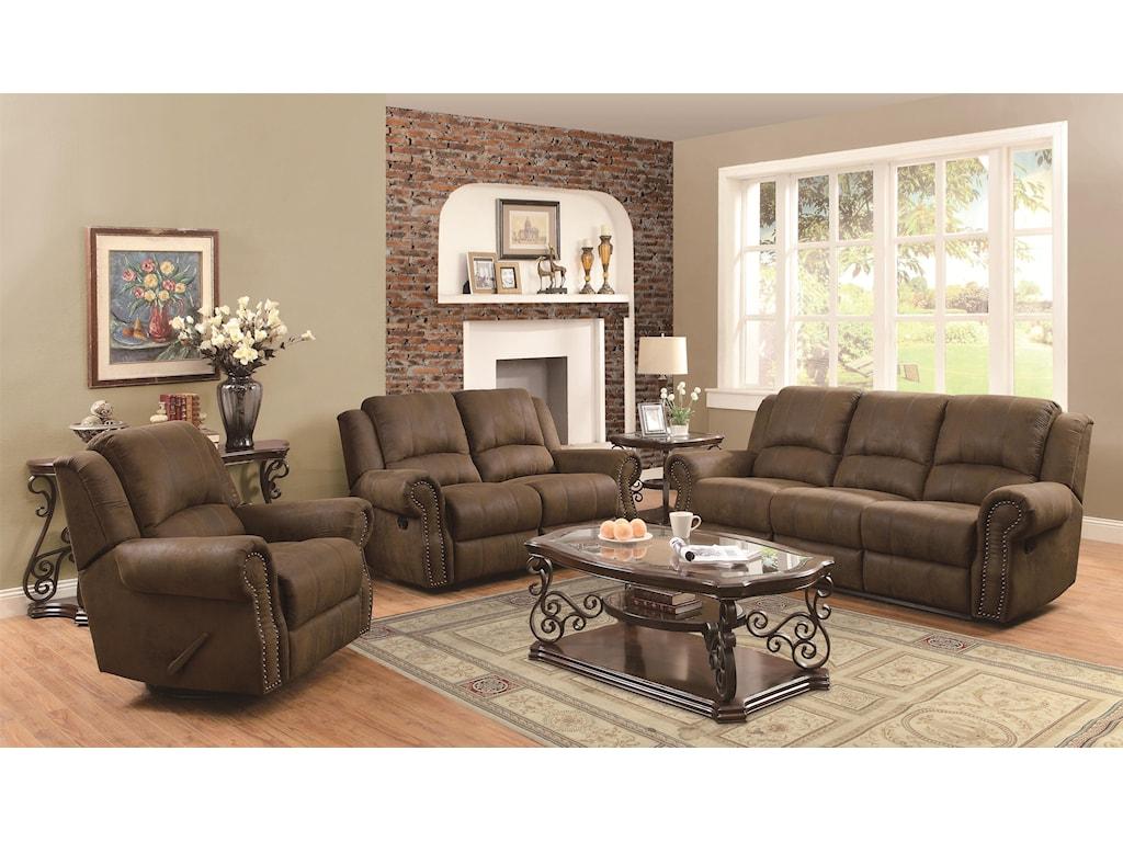 Coaster Sir RawlinsonReclining Living Room Group