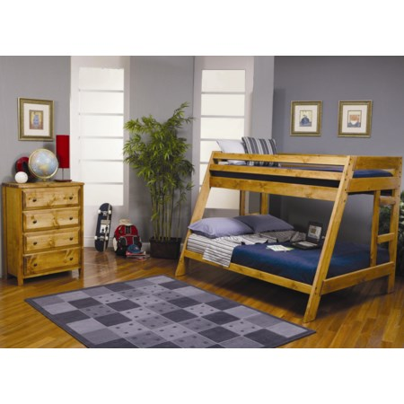 Twin Over Full Bunk Bedroom Group