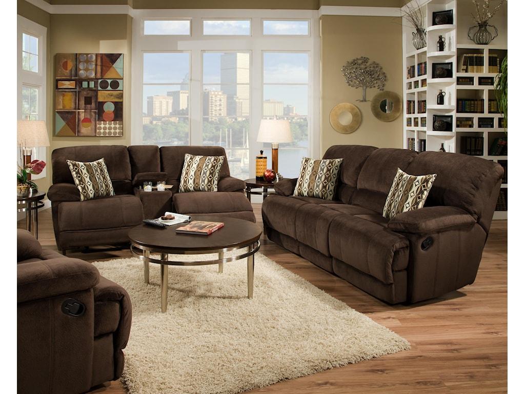 Corinthian 0588Reclining Living Room Group